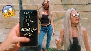A day in the life as an INSTAGRAM MODEL