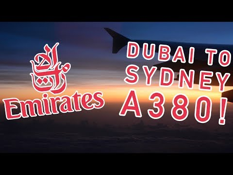 ✈ DUBAI TO SYDNEY On Emirates A380 | Long Haul Economy Review + MARHABA LOUNGE