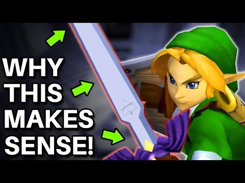 Why EVERYTHING About Zelda's Master Sword Somehow Makes Perfect Sense