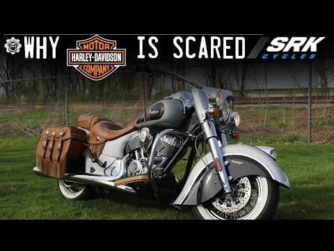 New Indian Chief Vintage Test Drive