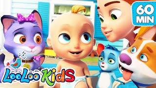 👶𝐉𝐨𝐡𝐧𝐲`𝐬 𝐌𝐨𝐦𝐦𝐲 𝐢𝐬 𝐖𝐚𝐥𝐤𝐢𝐧𝐠 𝐓𝐨 𝐓𝐡𝐞 𝐌𝐚𝐫𝐤𝐞𝐭 - LooLooKids Nursery Rhymes