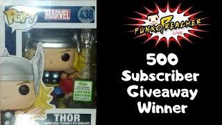 Funko Preacher Live: 500 Subscriber Giveaway Winner