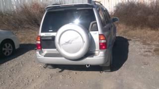 Видео-тест автомобиля Suzuki Escudo (серебро, Td62w, H25A, 1998)