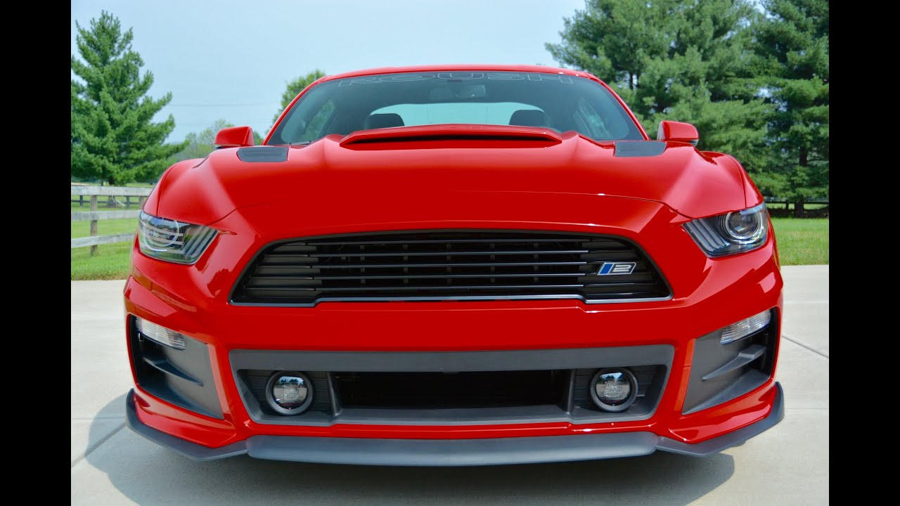 Mustang Gt Supercharger >> 2015 Roush Mustang with Roush Supercharger & Ford Racing X ...
