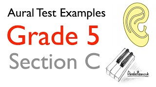 Aural Test Examples: Grade 5 ABRSM - Section C - Answers in captions/subtitles