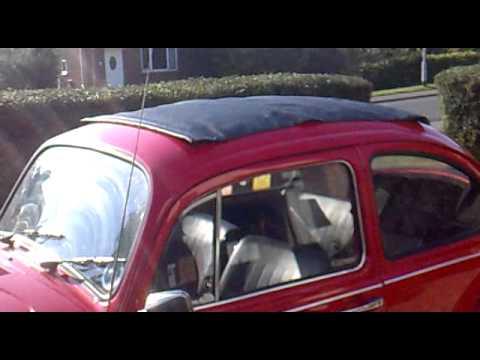 paris beetle ragtop install    beetle part  youtube