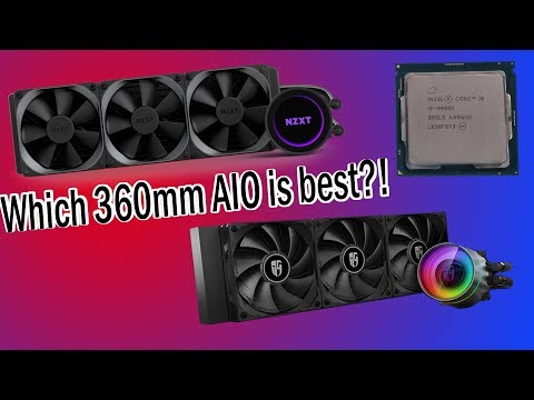 Which 360mm All In One Liquid Cooler Is Best?
