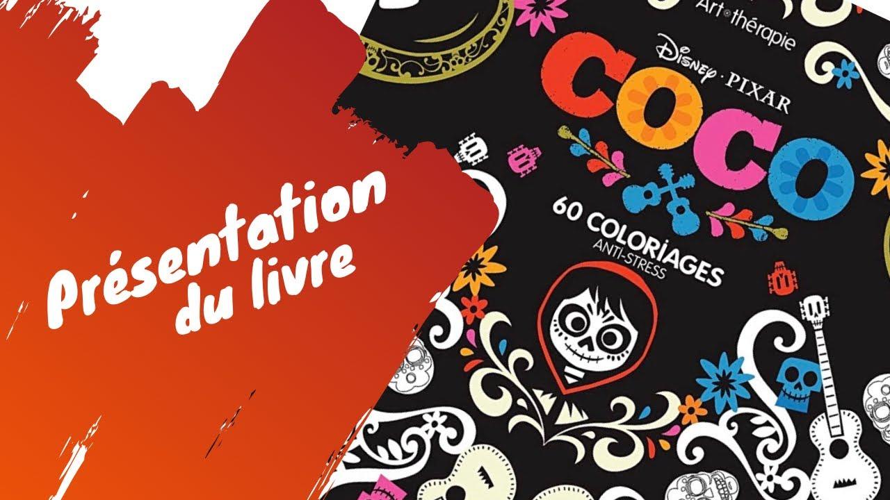 Coco Disney Pixar - Bloc de coloriages