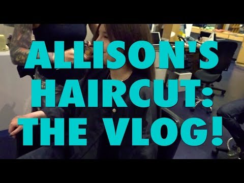 ALLISON CUT OFF ALL HER HAIR (NOT CLICKBAIT) FT. JUST BETWEEN US