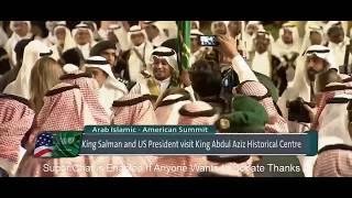 President Trump & King Salman Dancing During Ceremony in Saudi Arabia