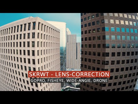 Correct GoPro, Drone, Fisheye, Wide-Angle Lens Distortion With Your IPhone - Tutorial