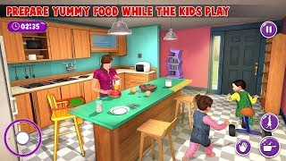 Virtual Mother New Baby Twins Family Simulator Android Gameplay
