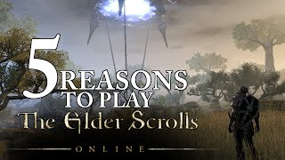 Top 5 Reasons to Play Elder Scrolls Online - B2P/Drop Subscription (ESO Gameplay/Commentary)