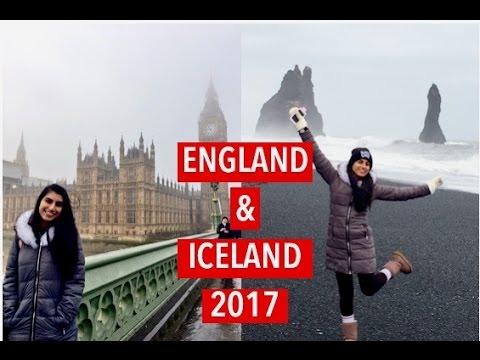 ENGLAND & ICELAND ADVENTURE + DASH CAM FOOTAGE!   Mali R.
