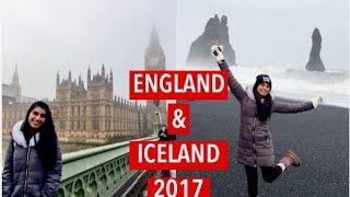ENGLAND & ICELAND ADVENTURE + DASH CAM FOOTAGE! | Mali R.