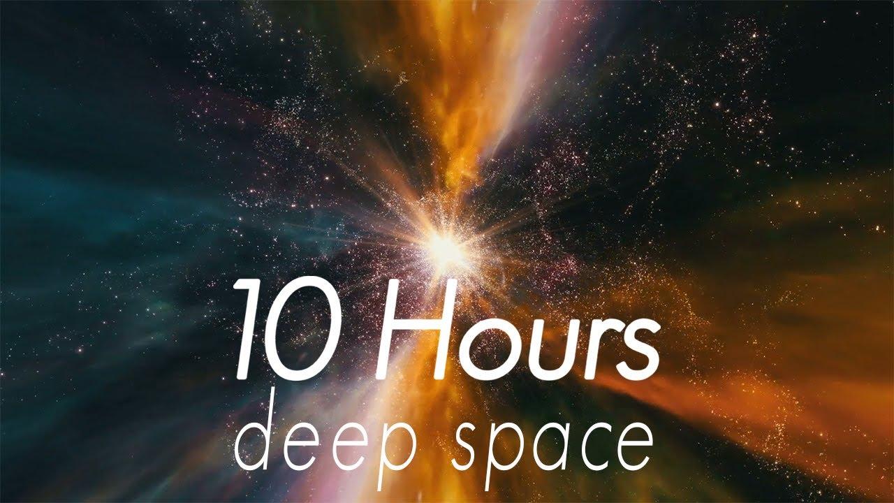 Deep Space White Noise   10 Hours   Restful Sleep Focus ...