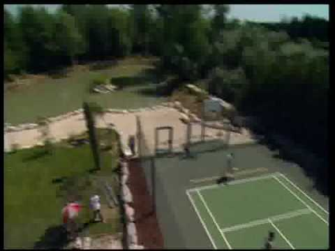 half court tennis du midi youtube. Black Bedroom Furniture Sets. Home Design Ideas