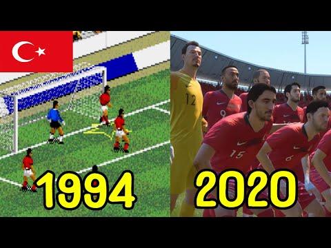 Evolution Of FIFA Games 1993-2020