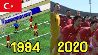 HISTORY OF TURKISH TEAMS IN FIFA SERIES (1994-2020)
