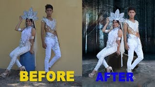 PHOTOSHOP TUTORIAL | HOW TO CHANGE BACKGROUND FAST AND EASY