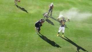 Josh Reddick Champagne Shower