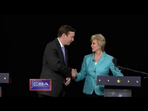 CT Senate Debate - McMahon & Murphy