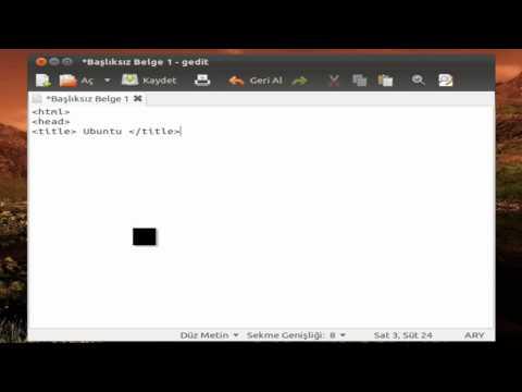 Ubuntu Html