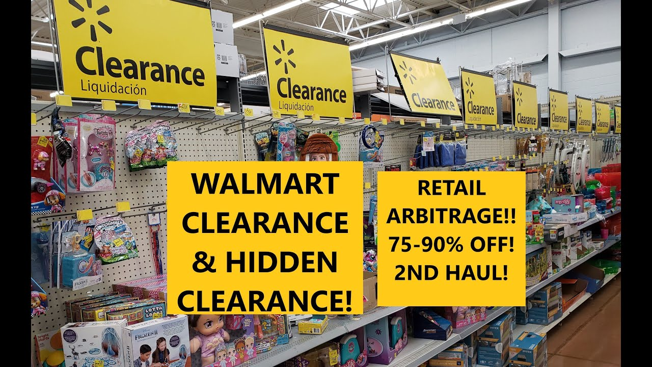 WALMART CLEARANCE & HIDDEN CLEARANCE! RETAIL ARBITRAGE!! 2ND HAUL!! 75-90% OFF!!