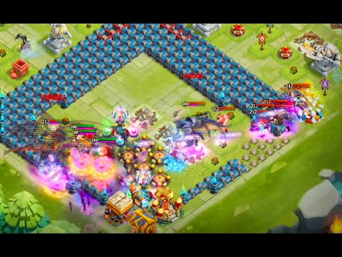Castle Clash: HBM AC To AE With ONE Scatter!