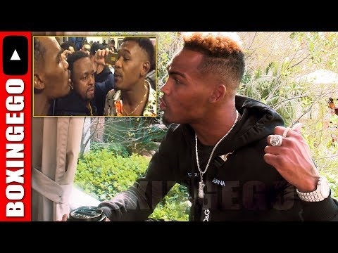 CHARLO EXPLAINS DANNY JACOBS USED TO BE ONE OF HIS FAVORITES; DARES HIM TO WALK IN ON