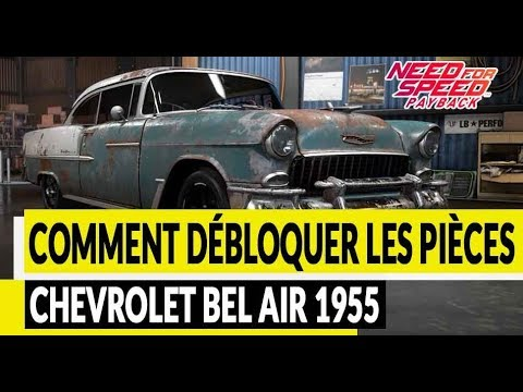 Nfs Payback Epave Chevrolet Bel Air 1955 Youtube