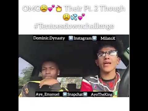 Dominic and Milato ten toes down part 1,2,3,4