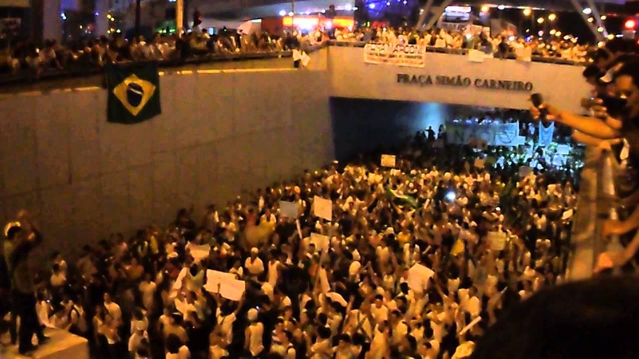Protesto em Goiânia - Voz do Povo - Lucas Baladas Videos