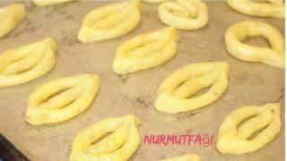 Çatal Kurabiye nasıl yapılır tarifi - kıtır kıtır bayatlamayan pastane kurabiye tarifi - Nurmutfağı