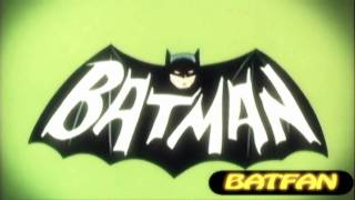 Batman TV Theme Song 1960 60's  Remastered with very cool video
