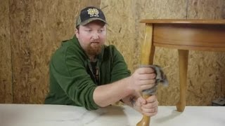 How Do I Remove Spray Paint Mist From Wood Furniture? : Woodworking Tips