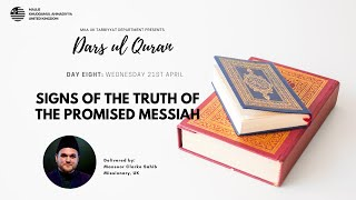 Daily Dars ul Quran: Sign of the Truth of The Promised Messiah(as)