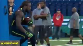 Dalvin Cook   2017 NFL Combine 40 Yard Dash & All Drills   NFL Highlights HD