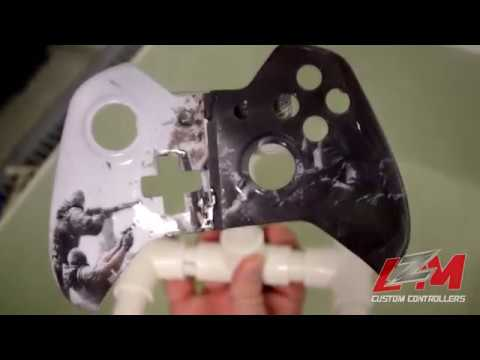 How to Paint a Custom Xbox One Controller | Rainbow Six Custom Controller