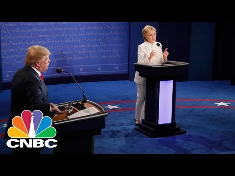 The Third Presidential Debate (1 of 3): Hillary Clinton and Donald Trump | CNBC