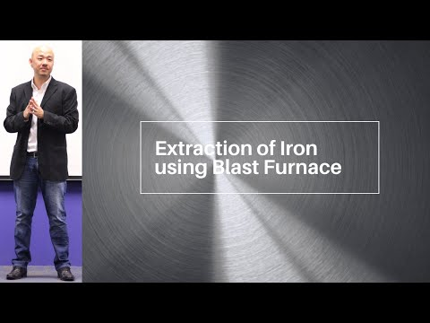 O Level Pure Chemistry. IP Chemistry: Extraction of Iron using Blast Furnace