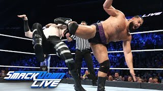 Rusev vs. Aiden English: SmackDown LIVE, Oct. 23, 2018