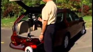 Fold-Down Wheelchair Lift for Cars, SUVs and Vans | Hudson Accessibility Solutions