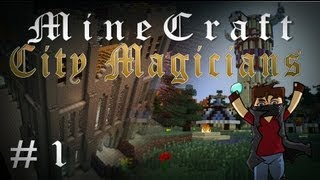 Repeat youtube video Minecraft: City Magicians #1 - ماينكرافت - مدينة السحرة