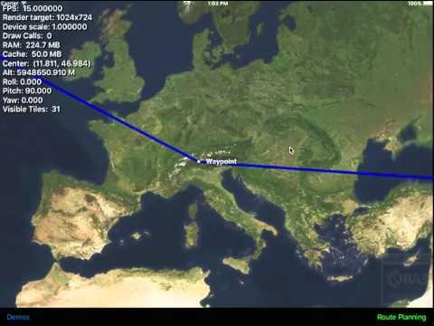 Altus IOS - Route Planning