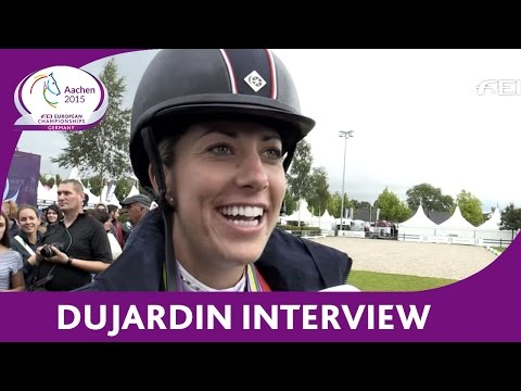 Interview charlotte dujardin sienna at the euros aa for Dujardin interview