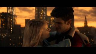 The Amazing Spider-man 2 peter and gwen love scene