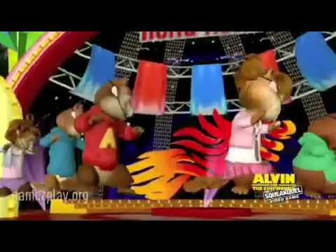 alvin and the chipmunks squeakquel video game nintendo wii ...