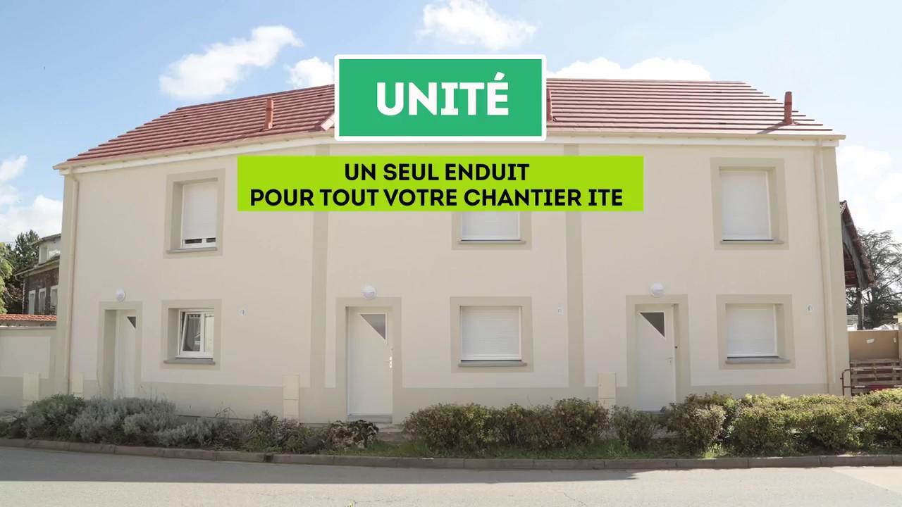 Unité Un Seul Enduit Pour Tout Votre Chantier D Isolation Thermique Par L Extérieur