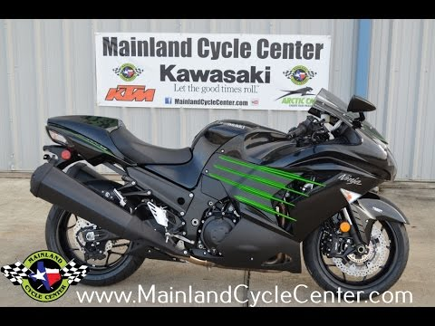 $14,999: 2017 Kawasaki ZX14R Metallic Spark Black Overview and ...